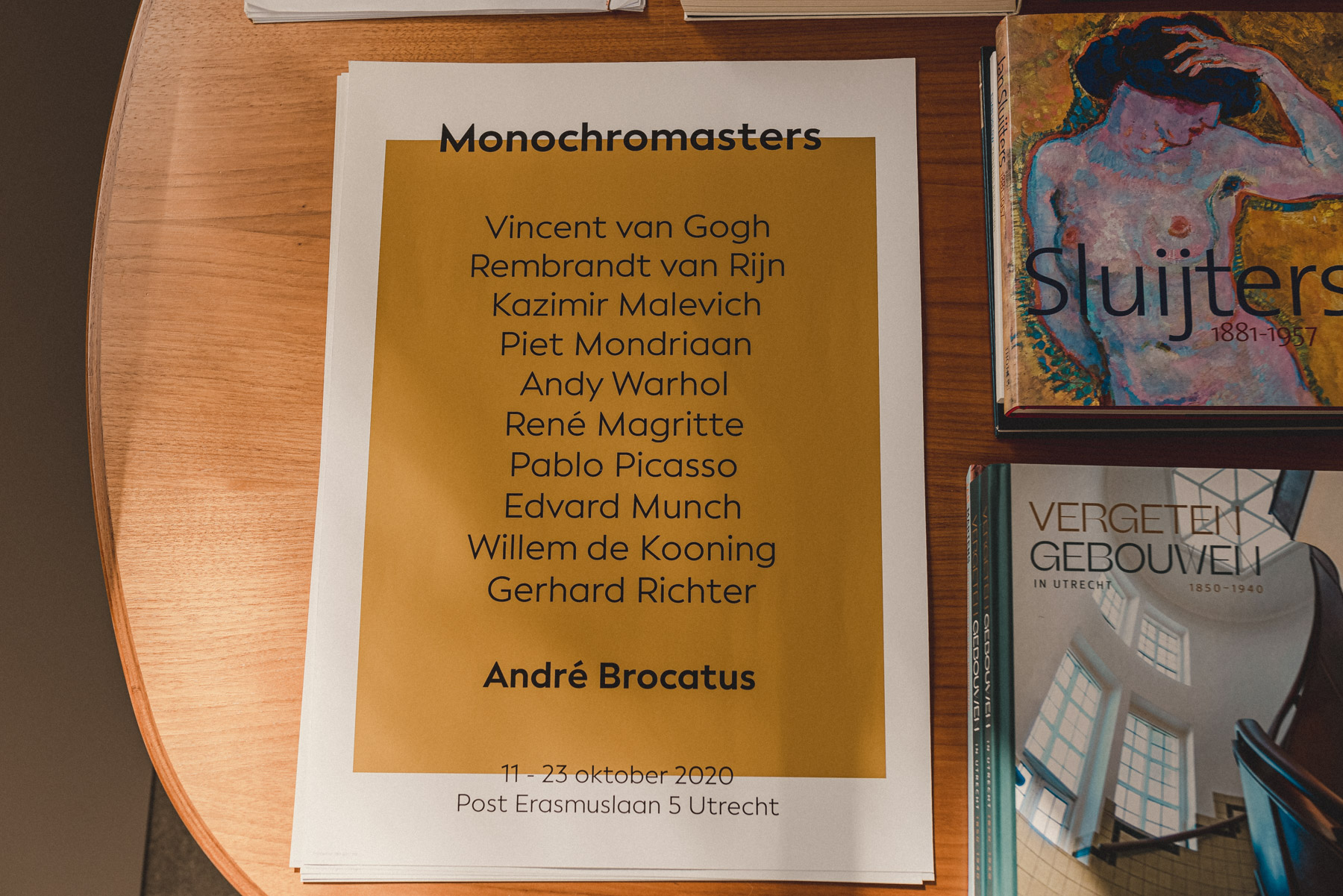 Poster of the Monochromasters expo 2020